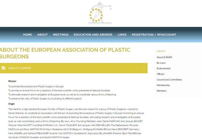 EURAPS Website
