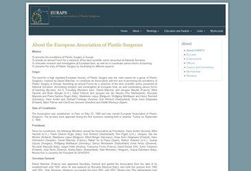 EURAPS – European Association of Plastic Surgeons