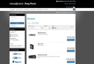 King Music – media@home