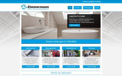 Zimmermann Webseite