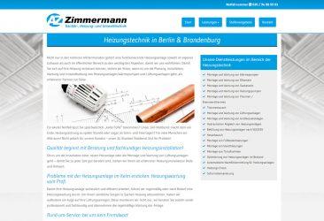 Zimmermann  – Sanitär-, Heizung- & Umwelttechnik