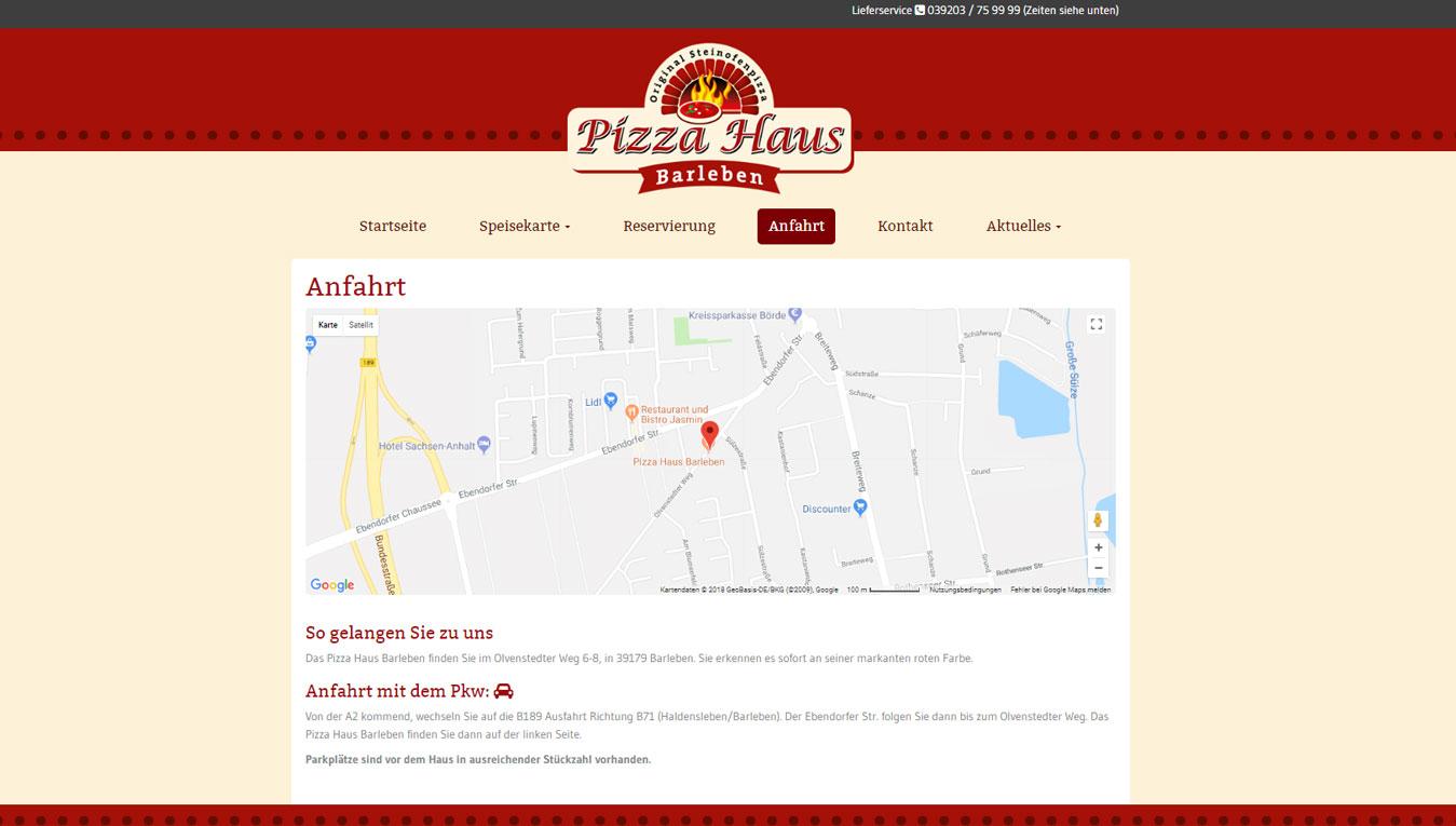 Referenzen dreampainter internet werbeagentur for Pizza haus braunschweig