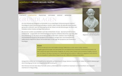 Praxis Michael Huster - Homöopathie